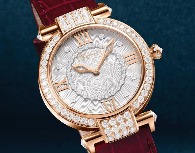 Swiss fake watches are mellow and valuable with rose gold material.